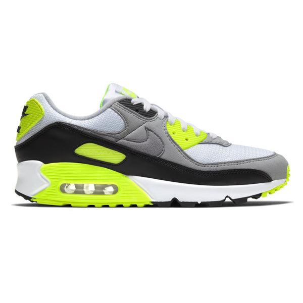 Nike Air Max 90 White Partical Grey Volt Black