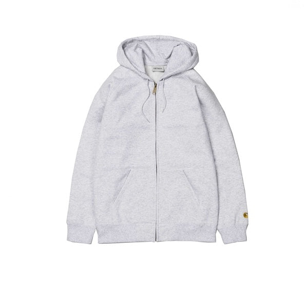 Carhartt Hooded Chase Jacket Ash Heather Gold