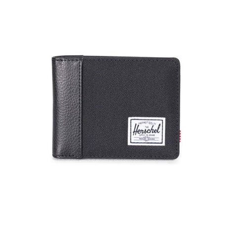 Herschel Edward RFID Black Synthetic Leather