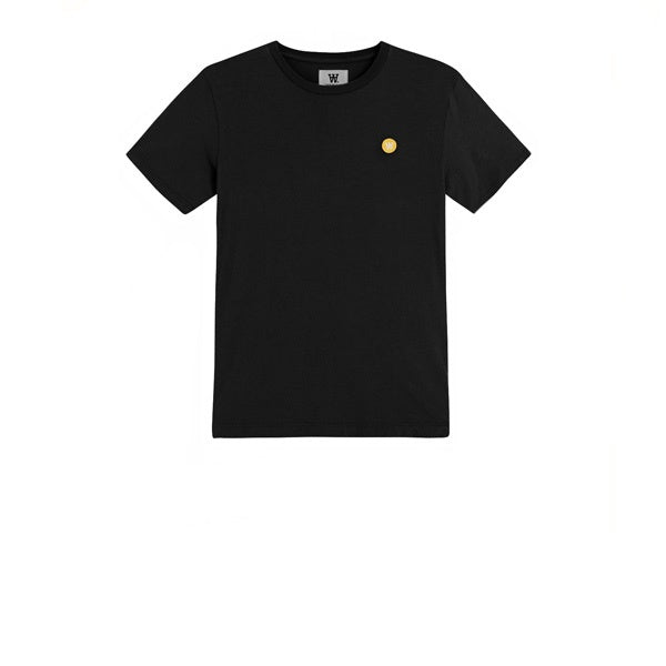 WOOD WOOD Ace T-Shirt Black