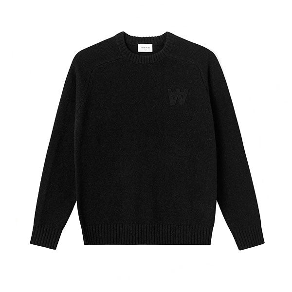 WOOD WOOD Kevin Sweater Black