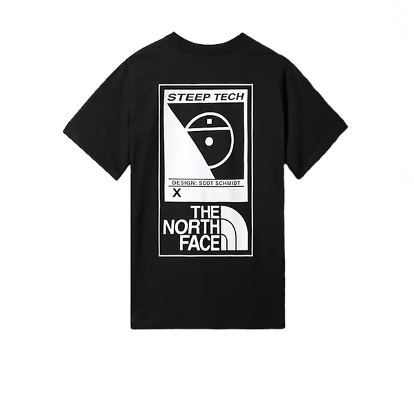 The North Face SS Steep Tech Tee Black