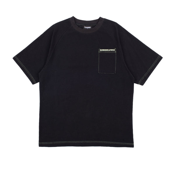 Pleasures Vulgar Raglan Shirt Black