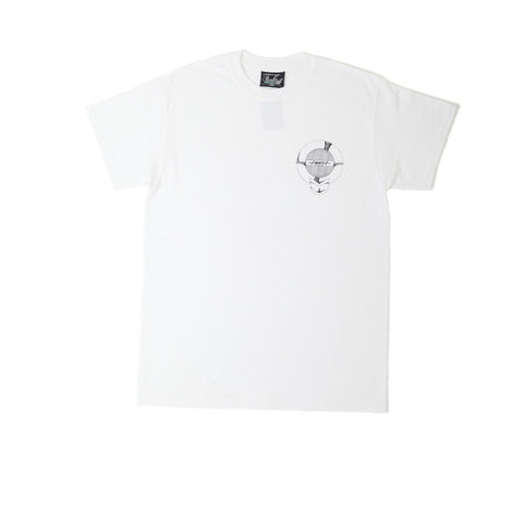 FNKST Garage Sign Tee White Black - Kong Online - 1