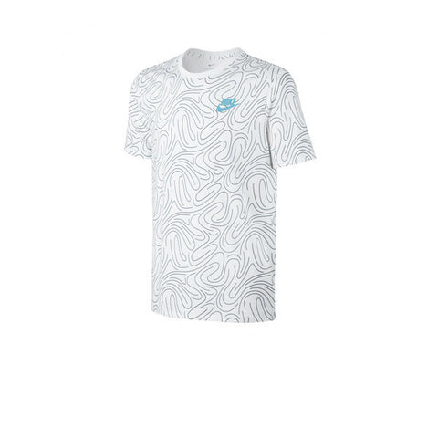 Nike NSW Tee Swoosh PLS OAP White Blue