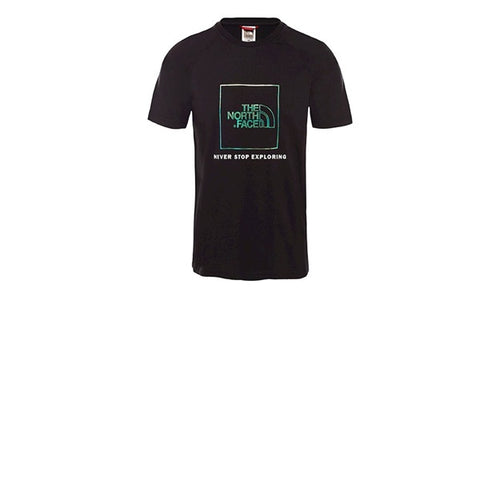 The North Face Rag Red Box Tee TNF Black Iridescent