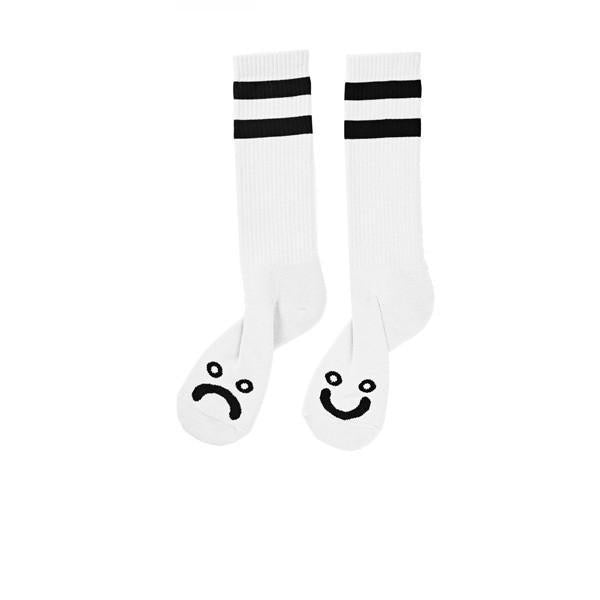 Polar Happy Sad Classic Sock White