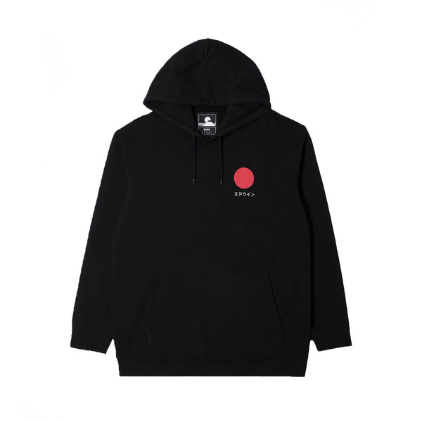 Edwin Japanese Sun Hoodie Sweat Black