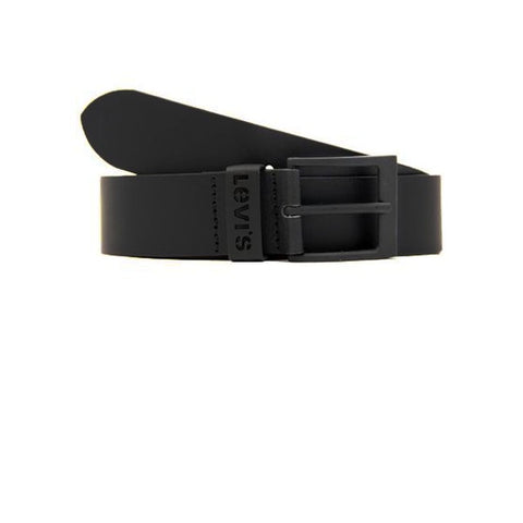 Levis Ashland Metal Belt Black Black