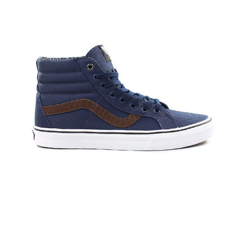 Vans Sk8-Hi Reissue (Cord & Plaid) Dress Blue - Kong Online - 1