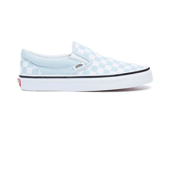 Vans Classic Slip-On (Checkerboard) Baby Blue