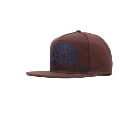 BBC Arch Logo Snapback Taupe