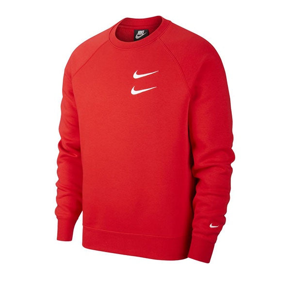Nike Swoosh Crew University Red White