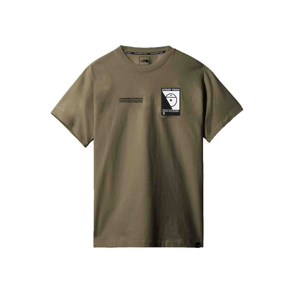 The North Face SS Steep Tech Tee Burnt Olive Green