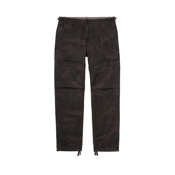 Carhartt WIP Aviation Pant Camo Provence (Rinsed)