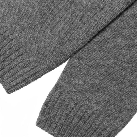 Carhartt University Sweater Shetland Wool Dark Grey Heather