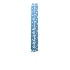Polar Stroke Logo Scarf Pool Blue