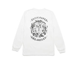 Daily Paper White Omo Vally Longsleeve