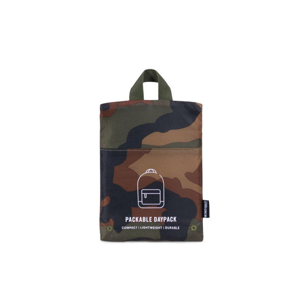 Herschel Packable Day Pack Woodland Camo