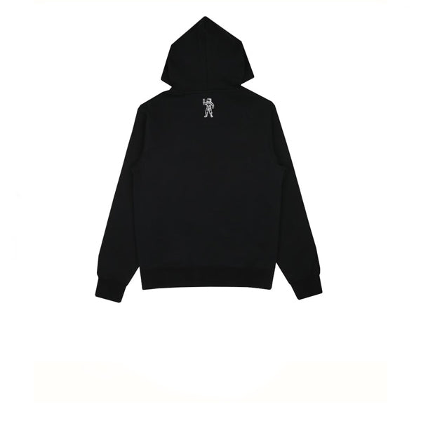 BBC Embroidered Floral Popover Hood Black
