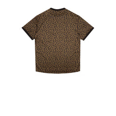Billionaire Boys Club Leopard Soccer Jersey Brown