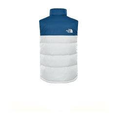 The North Face 1992 Nuptse Vest Blue Wing V White
