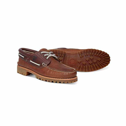 Timberland Authentics 3eye Boat Brown - Kong Online - 2