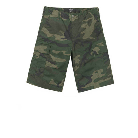 Carhartt Regular Cargo Short Camo Combat Green