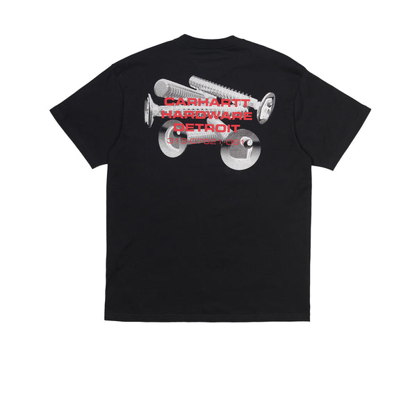 Carhartt WIP S/S Screws Tee Black