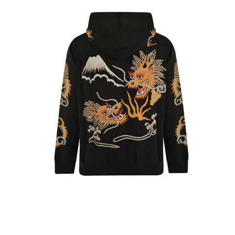 Maharishi Golden Hooded Sweat Black