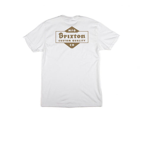 Brixton Crowich S/S Standard Tee White