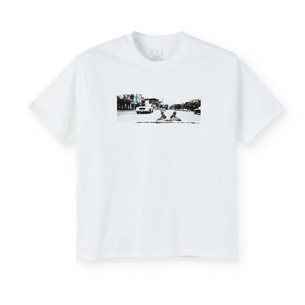 Polar Houston Tee White