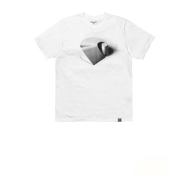 Carhartt S/S C Ramp T-Shirt White Black