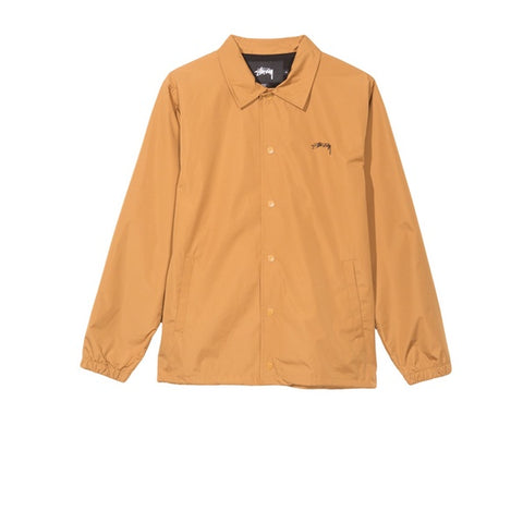 Stussy Cruize Coach Jacket Gold