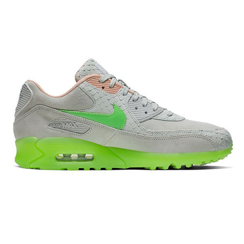 Nike Air Max 90 Premium Pure Platinum Electric Green