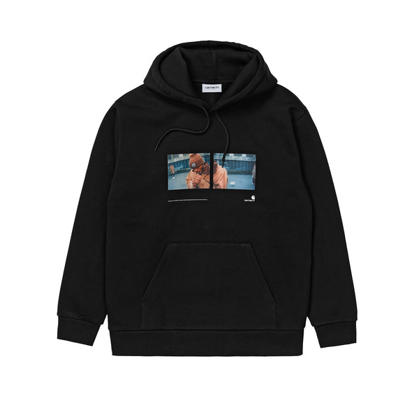 Carhartt WIP Hooded Backyard Sweat Black