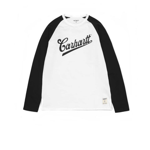 Carhartt L/S Strike T-Shirt White Black