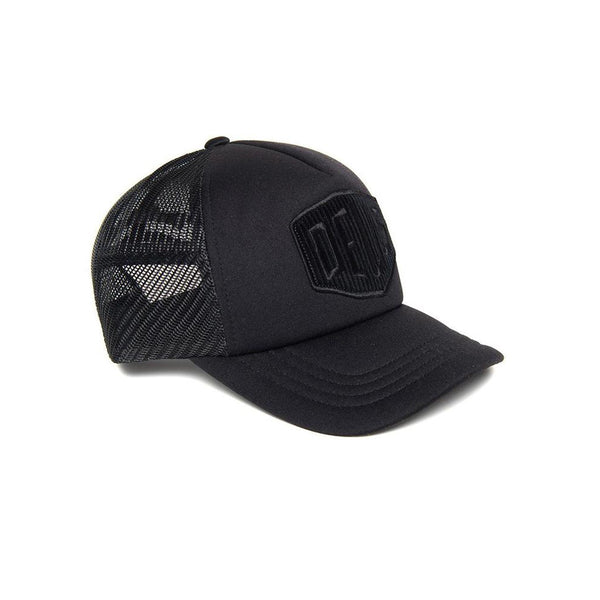 Deus Hayward Shield Trucker Black