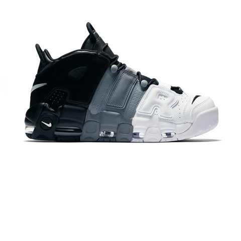Nike Air More Uptempo 96 Black Cool Grey White