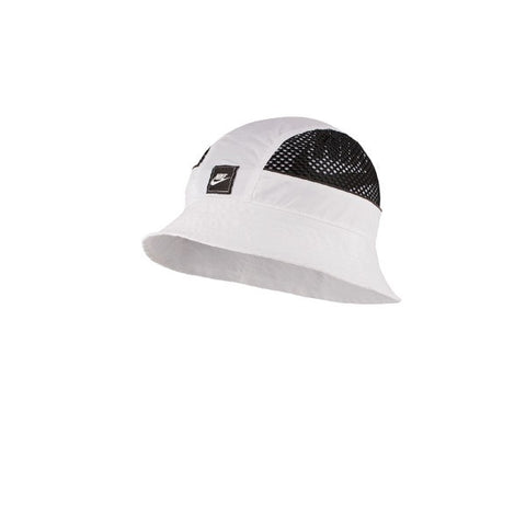 Nike Bucket Cap Mesh White Black