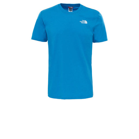 The North Face S/S Red Box Tee Cendre Blue Map