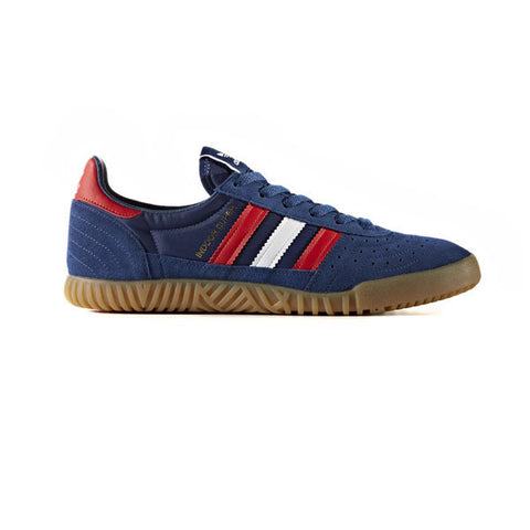 Adidas Indoor Super Mystery Blue White Red