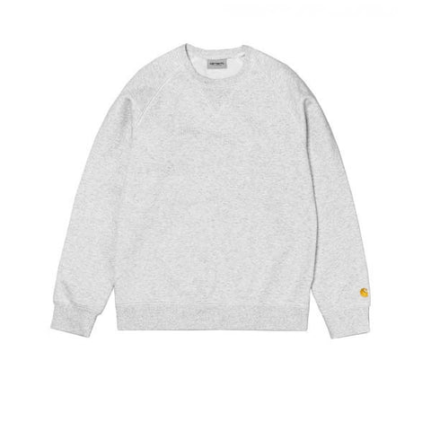 Carhartt Chase Sweat Ash Heather