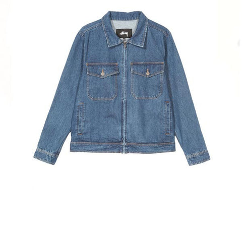 Stussy Denim Garage Jacket Indigo
