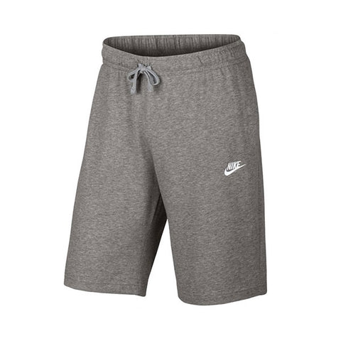 Nike Club Short Dark Grey Heather White