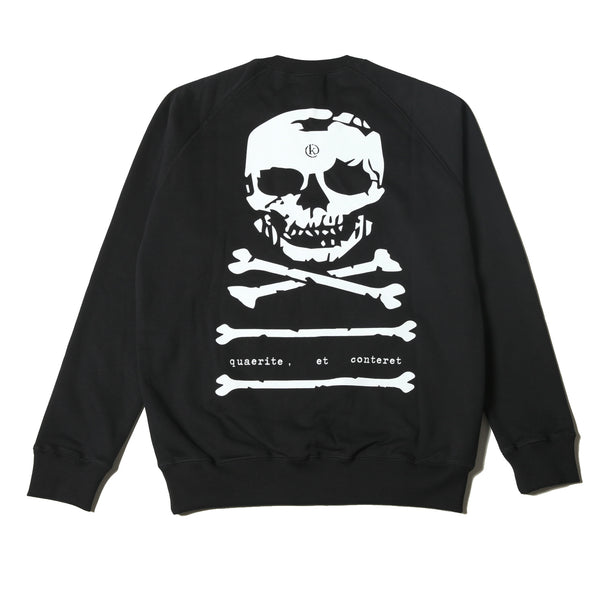 Kong Big Skull Sweatshirt Black