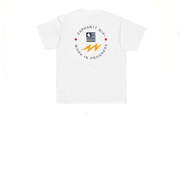 Carhartt S/S State Sports T-Shirt White