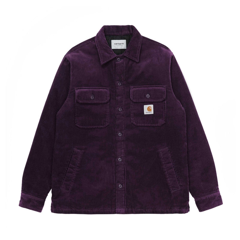 Carhartt WIP Whitsome Shirt Jac Boysenberry