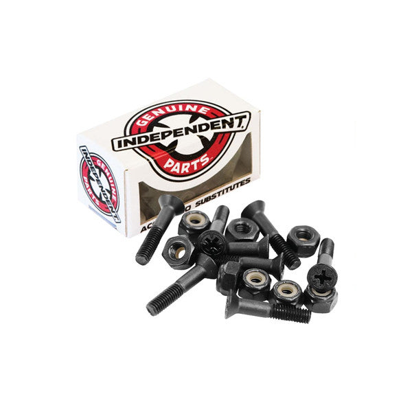 "Independent Indy Bolts 1"" Black - Kong Online"