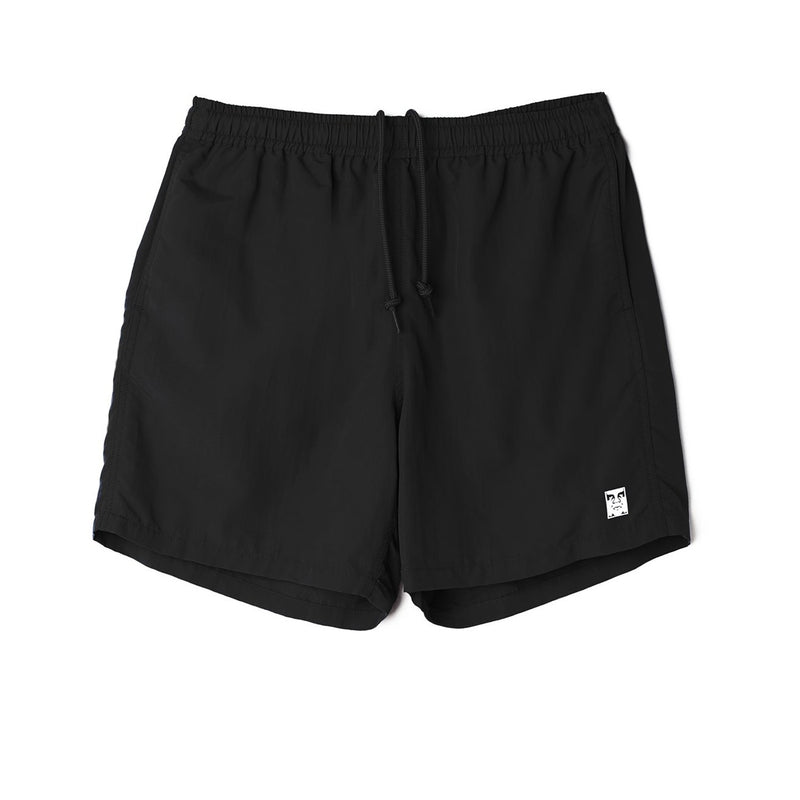 Obey Easy Relaxed Short Black
